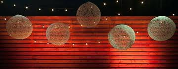 church wall decoration string chandeliers easter church wall decorations