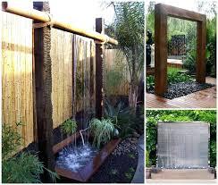 outdoor wall waterfall ideas stunning outdoor water wall wall fountains outdoor outdoor wall fountains diy