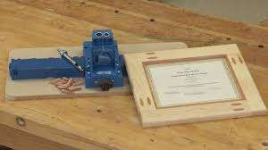 woodworking project plans for beginners. making a picture frame with pocket hole accents woodworking project plans for beginners