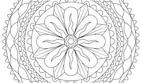 Hard Flower Coloring Pages Hard Flower Coloring Pages For Girls And