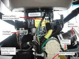 2005 toyota sienna remote start pictorial here are the ignition wires