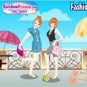 На двоих для девочек модные