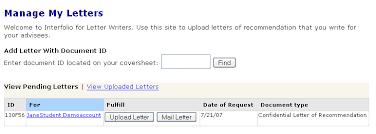 interfolio upload letter of recommendation letter writer information the interfolio blog