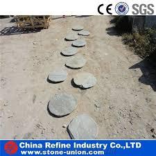 natural slate stepping stone garden
