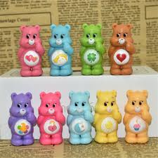 Rainbow Bear Figuras Toys Care Bears Carebear Dolls Kids Friends