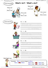 English worksheets for grammar introduction, free printable ...