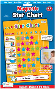 How To Do A Star Chart Fiesta Crafts Magnetic Star Chart