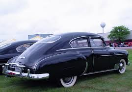 1949 Chevrolet Deluxe Fastback--Rear Angle