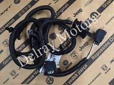 jeep wrangler trailer wiring harness 4way tow trailer wiring harness 2007 2015 jeep wrangler oem brand new