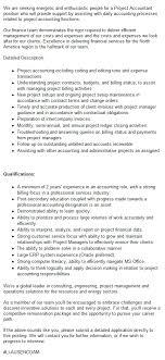 Project Accountant Mining Job In Canada Careermine
