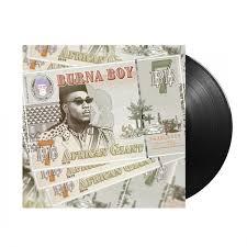 "<b>Burna Boy African</b> Giant 12"" Vinyl"