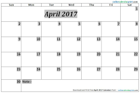 April 2017 Calendar Editable | 2017 calendar template