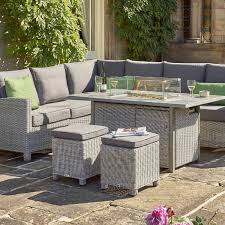 kettler palma fire pit table the