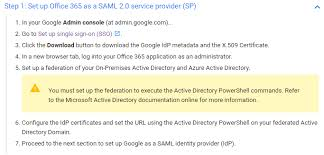 Enabling Google SSO On Office 40 Active Directory GPO Impressive Sso Quote