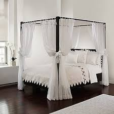 Drapes For Canopy Bed | Wayfair