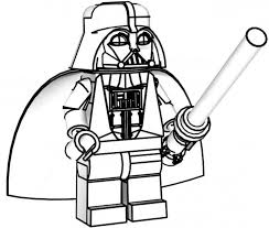 Small Picture Lego Star Wars Darth Vader Coloring Page Free Printable 11332