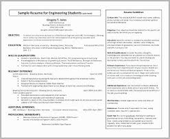 Resume Objective Examples For Mechanical Engineering Sample