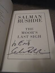 for love of books salman rushdie news from the boston becks my