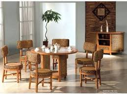 wicker furniture indoors rattan dining room set indoor table and chairs wicker chairs indoor rattan dining