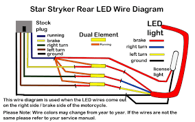 stryker led brake light kit low and mean throughout wiring diagram LED Light Wiring Guide stryker led brake light kit low and mean throughout wiring diagram for motorcycle led lights
