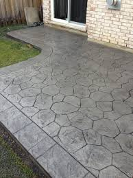 stained stamped concrete patio. Large Size Of Patio \u0026 Outdoor, Concrete Pavers Cement Stain Imprinted Driveway Cost Stained Stamped K