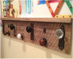 Decorative Coat Rack With Shelf Decorative Coat Rack from Found Objects 2