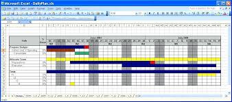 Free Calendar Template Excel Spreadsheet Calendars Gantt Project