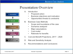 Business Case Analysis Templates Ms Word Excel Powerpoint System