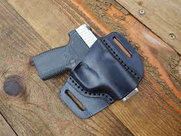 making a leather holster for a kahr ct380
