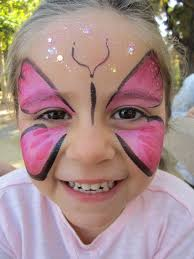 photo of poppy face painting san jose ca united states