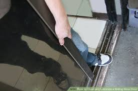 image titled clean and lubricate a sliding glass door step 12