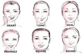 find the perfect hairstyle by knowing your face shape element hair