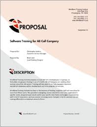 A Sample Of A Proposal Training Services Sample Proposal 5 Steps