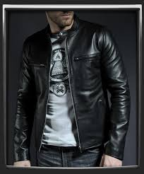 a timeless classic leather jacket influenced by retro 60s style we usually design jackets inspired by 70s themes but we had to give this one our own