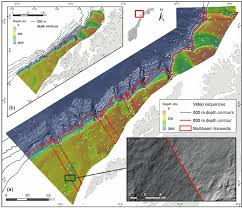 Olex Charts A Colour Shaded Relief Image Of The Composite Multibeam