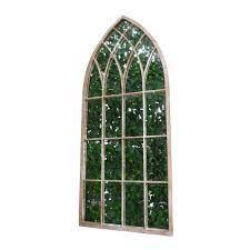 gothic stone mirror