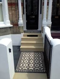 patio ideas uk yorkstone mosaic rail heaver rail and gate mosaic google search