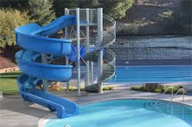 Swirly Slides Natural Structures Water Slides Entry Height 16 To 17