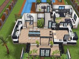 Sims House Design House 77 Ground Level Sims Simsfreeplay Simshousedesign