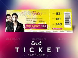 free ticket design template free download event tickets template psd designbeep