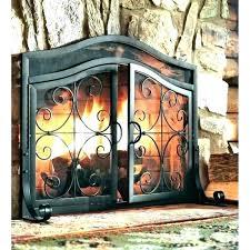 outdoor fireplace screens outdoor fireplace screens custom