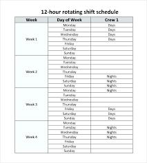 Healthcare Staff Scheduling Template 5 Nursing Schedule Templates