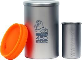 <b>Заварочный термостакан</b> из <b>титана NZ Titanium</b> Tea Cup 450 мл ...