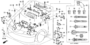 honda online store odyssey engine wire harness parts 2001 odyssey van 5 door 4at engine wire harness diagram