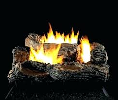 propane fireplaces s vent free fireplace odor gas fire logs 18 in natural log set