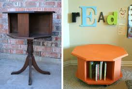repurposed office furniture. Fine Repurposed Pin Trash To Treasure Book Caddy For Repurposed Office Furniture V