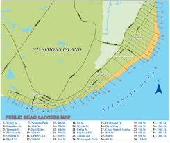St Simons Tide Chart 2017 St Simons Island Beaches East Beach Coast Guard Station