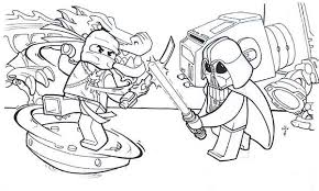 Small Picture Lego Ninja Go Vs Star Wars Coloring Pages Batch Coloring