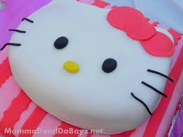 Hello Kitty Birthday Cake Momma D And Da Boyz