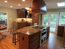 kitchen island with cooktop  kitchen design